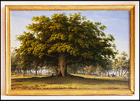 BNPS.co.uk (01202 558833)<br /> Pic: Sworders/BNPS<br /> <br /> 'The Beggars Oak' by John Glover est &pound;30,000.<br /> <br /> The &pound;1million contents of a majestic 16th century English country house including its eye-catching tapestries, paintings and antique furniture have emerged for sale.<br /> <br /> The jewel in the crown in the everything must go sale at North Mymms Park is a collection of 19 large European tapestries which are each valued at &pound;20,000.<br /> <br /> The 12ft by 17ft tapestries were crafted in weaving workshops across northern Europe from the mid 16th to mid 18th century and have hung in the Grade I listed manor 'of exceptional interest' near Colney, Herts, for over 100 years. <br /> <br /> They were purchased by Anglo-American banker Walter Hayes Burns who acquired the estate in 1893 to accommodate his growing art collection and whose family owned it until 1979.