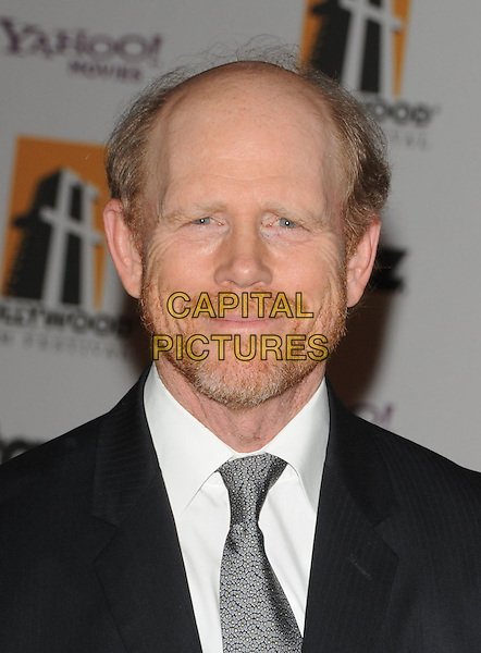 RON HOWARD.The Hollywood Film Festival's Gala Ceremony held at Beverly Hilton Hotel in Beverly Hills, California,  USA..October 27th, 2008     .headshot portrait beard facial hair .CAP/DVS.©Debbie VanStory/Capital Pictures.