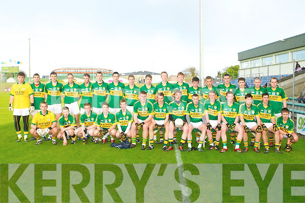 Kerry v Tipperary in the Munster minor football championship at Austin Stack park, Tralee on Saturday..