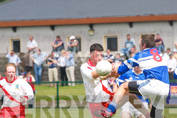 Shannon Rangers V An Gaeltacht in the Senior Football County Championship at Listowel on Sunday