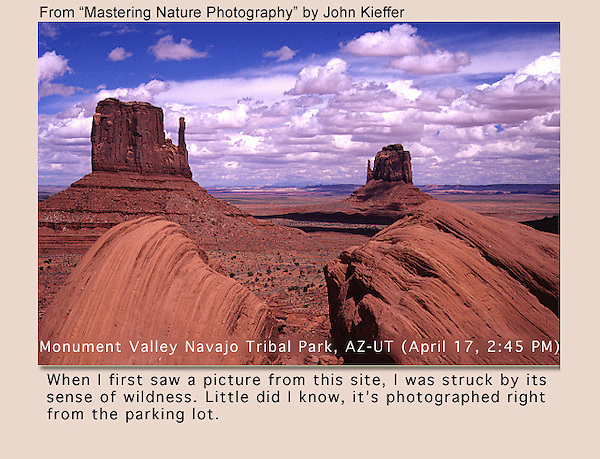 "From John's 3rd book: ""Mastering Nature Photography."" <br />