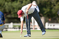 Stanford, Ca - Thursday, May 18, 2012: Stanford Golf plays in the NCAA Regionals held at the Stanford Golf Course. Andrew Yun