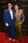 """Kyle Brown and Nick Adams attends the Broadway Opening Night performance After Party for """"Moulin Rouge! The Musical"""" at the Hammerstein Ballroom on July 25, 2019 in New York City."""