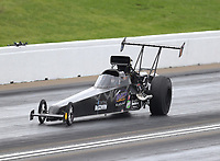May 20, 2017; Topeka, KS, USA; NHRA top alcohol dragster driver Dean Dubbin during qualifying for the Heartland Nationals at Heartland Park Topeka. Mandatory Credit: Mark J. Rebilas-USA TODAY Sports