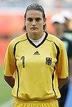 09 August 2008: Nadine Angerer (GER).  The women's Olympic soccer team of Germany defeated the women's Olympic soccer team of Nigeria 1-0 at Shenyang Olympic Sports Center Wulihe Stadium in Shenyang, China in a Group F round-robin match in the Women's Olympic Football competition.