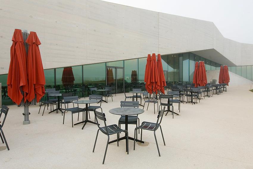 Terrasse de la cafeteria