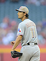 Yu Darvish (Rangers), MAY 27, 2013 - MLB : MLB game between the Arizona Diamondbacks and the Texas Rangers in Phoenix, Arizona, United States. (Photo by AFLO)