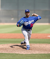 Roberto Feliciano / Los Angeles Dodgers 2008 Instructional League..Photo by:  Bill Mitchell/Four Seam Images