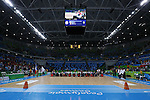 General View,<br /> SEPTEMBER 15, 2016 - WheelChair Rugby : <br /> Preliminary Round Group B<br /> match Japan 57-52 France<br /> at Carioca Arena 1 during the Rio 2016 Paralympic Games in Rio de Janeiro, Brazil.<br /> (Photo by Shingo Ito/AFLO)