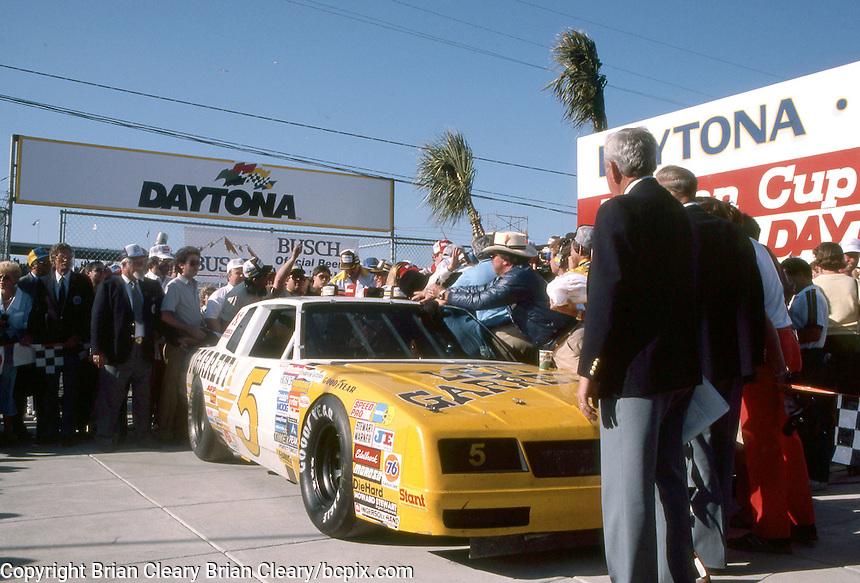 Daytona 500, Daytona International Speedway, Daytona Beach, FL, February 16, 1986.  (Photo by Brian Cleary/www.bcpix.com)