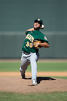 Lynchburg Hillcats relief pitcher Antonio Romero (36) in action against the Winston-Salem Dash at BB&T Ballpark on August 2, 2015 in Winston-Salem, North Carolina.  The Hillcats defeated the Dash 8-3.  (Brian Westerholt/Four Seam Images)