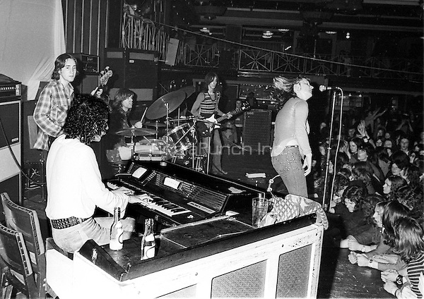 Stone The Crows performing 1972. Credit: Ian Dickson/MediaPunch