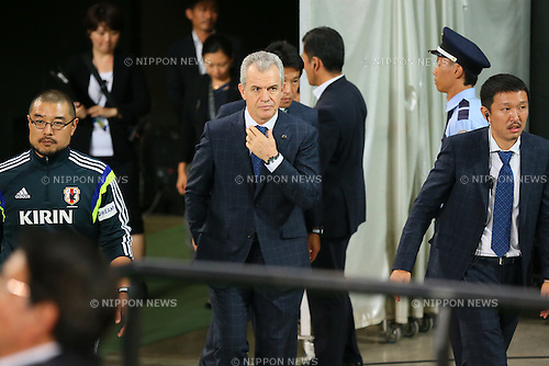 Javier Aguirre (JPN), <br /> SEPTEMBER 5, 2014 - Football / Soccer : <br /> KIRIN Challenge Cup 2014 <br /> match between Japan - Uruguay <br /> at Sapporo Dome, Hokkaido, Japan. <br />  (Photo by Yohei Osada/AFLO SPORT) [1156]