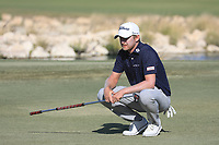 Justin Harding (RSA) in action during the final round of the Commercial Bank Qatar Masters, Doha Golf Club, Doha, Qatar. 10/03/2019<br /> Picture: Golffile | Phil Inglis<br /> <br /> <br /> All photo usage must carry mandatory copyright credit (&copy; Golffile | Phil Inglis)
