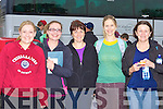 Mary Ellen, Leonora Breen, Niamh Clifford, Thelma Murphy and Kathleen Griffin at the annual Old Kenmare walk in aid of MS in Killarney on Sunday