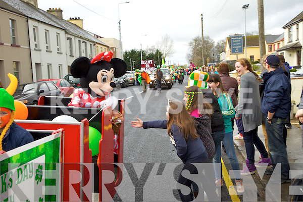 pictured at the Castleisland Saint Patrick's day parade on Saturday.