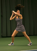 Rotterdam, The Netherlands, 15.03.2014. NOJK 14 and 18 years ,National Indoor Juniors Championships of 2014, Pantha Ardani (NED)<br /> Photo:Tennisimages/Henk Koster