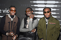 BROOKLYN, NY - SEPTEMBER 10: Migos at Rihanna's second annual Savage X Fenty Show at Barclay's Center in Brooklyn, New York City on September 10, 2019. Credit: John Palmer/MediaPunch