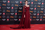 Cuca Escribano attends red carpet of Goya Cinema Awards 2018 at Madrid Marriott Auditorium in Madrid , Spain. February 03, 2018. (ALTERPHOTOS/Borja B.Hojas)