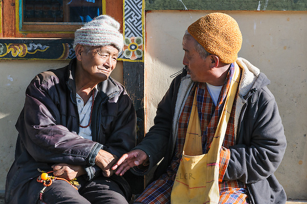 Two friends who respect each other's thoughts<br />