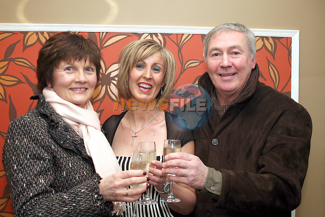 Owner Martina Fitzpatrick with Fidelma and Paidín O'Hare at the Official Opening of Bistro BT in Bettystown...Photo NEWSFILE/Jenny Matthews.(Photo credit should read Jenny Matthews/NEWSFILE)....This Picture has been sent you under the condtions enclosed by:.Newsfile Ltd..The Studio,.Millmount Abbey,.Drogheda,.Co Meath..Ireland..Tel: +353(0)41-9871240.Fax: +353(0)41-9871260.GSM: +353(0)86-2500958.email: pictures@newsfile.ie.www.newsfile.ie.FTP: 193.120.102.198.