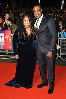"Angie Thomas and George Tillman Jr.<br /> arriving for the London Film Festival screening of ""The Hate U Give"" at the Cineworld Leicester Square, London<br /> <br /> ©Ash Knotek  D3452  20/10/2018"