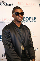 LOS ANGELES, CA - NOVEMBER 13: Usher at People You May Know  at The Pacific Theatres at The Grove in Los Angeles, California on November 13, 2017. Credit: Robin Lori/MediaPunch /NortePhoto.com