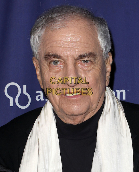 "GARRY MARSHALL.18Th Annual ""A Night at Sardi's"" Benefitting The Alzheimer's Association held At The Beverly Hilton Hotel, Beverly Hills, California, USA..March 18th, 2010.headshot portrait black white  .CAP/ADM/KB.©Kevan Brooks/AdMedia/Capital Pictures."
