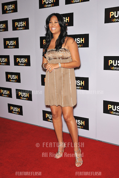 """Kimora Lee Simmons at the Los Angeles premiere of """"Push"""" at Mann Village Theatre, Westwood..January 29, 2009  Los Angeles, CA.Picture: Paul Smith / Featureflash"""