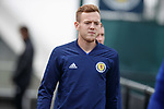 02.09.2019 Scotland u-21 training, Oriam, Edinburgh.<br /> George Johnston of Feyenoord arrives for training ahead of the upcoming UEFA European Under-21 Championship Qualifier against San Marino this Thursday evening in Paisley.
