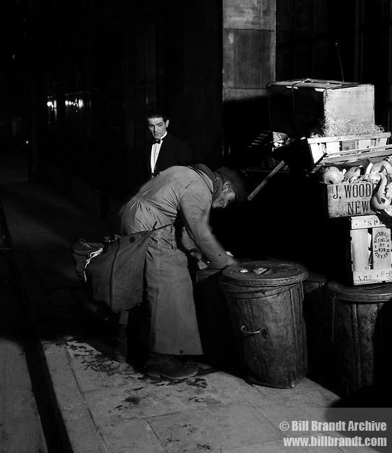 Behind the restaurant, 1935