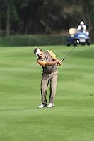 Jose Manuel Lara (ESP) finishing his third round on Sunday Morning at Trophée Hassan II, Golf du Palais Royal, Agadir, Morocco 25/03/12.Picture Fran Caffrey www.golffile.ie