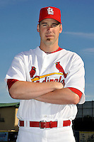 Mar 01, 2010; Jupiter, FL, USA; St. Louis Cardinals  pitcher Chris Carpenter (29) during  photoday at Roger Dean Stadium. Mandatory Credit: Tomasso De Rosa/ Four Seam Images