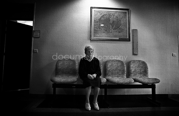 """My sister refuses to go back to my grandmothers house. """"She is not there anymore, feel free to go if you want to, but I don't want to because it would be to hard""""...© Magali Corouge/Documentography.2004-2006.France"""