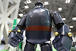 July 30, 2010 - Tokyo, Japan - Tetsujin 28 (known as Gigantor outside of Japan) created by the Osaka based VStone is displayed during Robotech at Tokyo Big Sight, Japan, on July 30, 2010. The robot stands 380 mm high and weighs about 2.5 kg - roughly the same size as a Robo-One class robot, but with some unique enhancements like the fluid knee movement design.