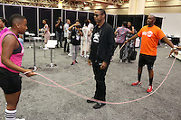 NEW ORLEANS, LA - JULY 3, 2016 Doug E. Fresh backstage at the Convention Center for the Essence Festival, July 3, 2016 in New Orleans, Louisiana. Photo Credit: Walik Goshorn / Media Punch