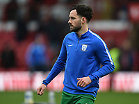 Preston's Greg Cunningham during the pre-match warm-up <br /> <br /> Photographer Jonathan Hobley/CameraSport<br /> <br /> The EFL Sky Bet Championship - Brentford v Preston North End - Saturday 10th February 2018 - Griffin Park - Brentford<br /> <br /> World Copyright &copy; 2018 CameraSport. All rights reserved. 43 Linden Ave. Countesthorpe. Leicester. England. LE8 5PG - Tel: +44 (0) 116 277 4147 - admin@camerasport.com - www.camerasport.com