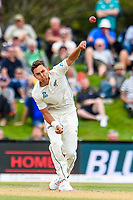 Trent Boult of the Black Caps during Day 4 of the Second International Cricket Test match, New Zealand V England, Hagley Oval, Christchurch, New Zealand, 2nd April 2018.Copyright photo: John Davidson / www.photosport.nz