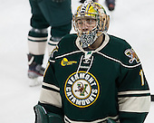 John Vazzano (UVM - 1) - The Boston College Eagles defeated the visiting University of Vermont Catamounts to sweep their quarterfinal matchup on Saturday, March 16, 2013, at Kelley Rink in Conte Forum in Chestnut Hill, Massachusetts.