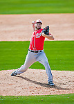 29 February 2016: Washington Nationals pitcher Lucas Giolito on the mound during an inter-squad pre-season Spring Training game at Space Coast Stadium in Viera, Florida. Mandatory Credit: Ed Wolfstein Photo *** RAW (NEF) Image File Available ***