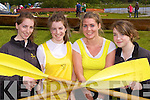 Meadbh, Sorcha and Elaine Daly and Emma Looney Muckross Rowing Club enjoying the Killarney Regatta on Sunday..