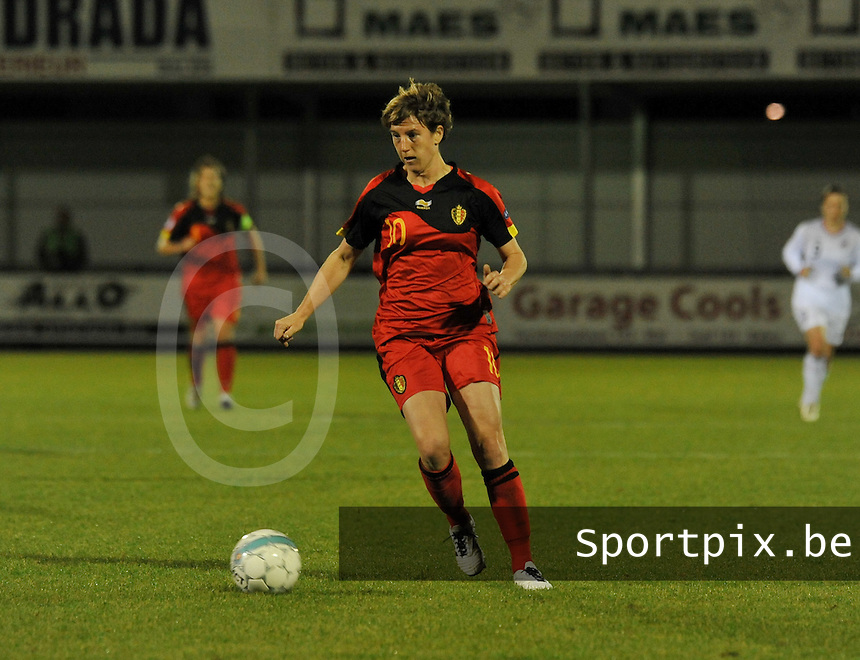 UEFA Women's Euro Qualifying group stage (Group 3) -  KFC Dessel - Armand Melis Stadion : BELGIUM - NORWAY ( Belgie - Noorwegen) : Aline Zeler.foto DAVID CATRY / Vrouwenteam.be / Loft6.be