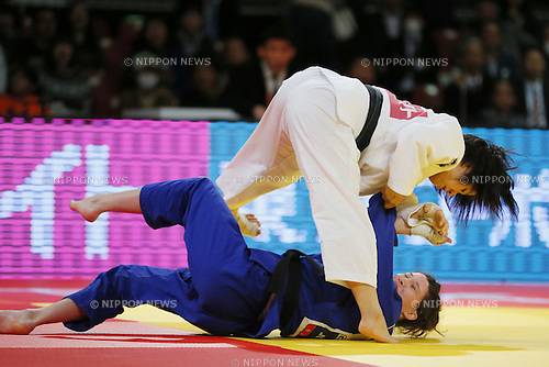 Tsukasa Yoshida (JPN), DECEMBER 5, 2015 - Judo : IJF Grand Slam Tokyo 2015 International Judo Tournament Women's -57kg Final Match at Tokyo Metropolitan Gymnasium, Tokyo, Japan. (Photo by Yusuke Nakanishi/AFLO SPORT)