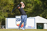 Beau Hossler (USA) watches his tee shot on 2 during round 4 of the 2019 Houston Open, Golf Club of Houston, Houston, Texas, USA. 10/13/2019.<br /> Picture Ken Murray / Golffile.ie<br /> <br /> All photo usage must carry mandatory copyright credit (© Golffile | Ken Murray)