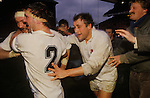 Rugby at Twickenham England beat Wales.  The English Season published by Pavilon Books 1987