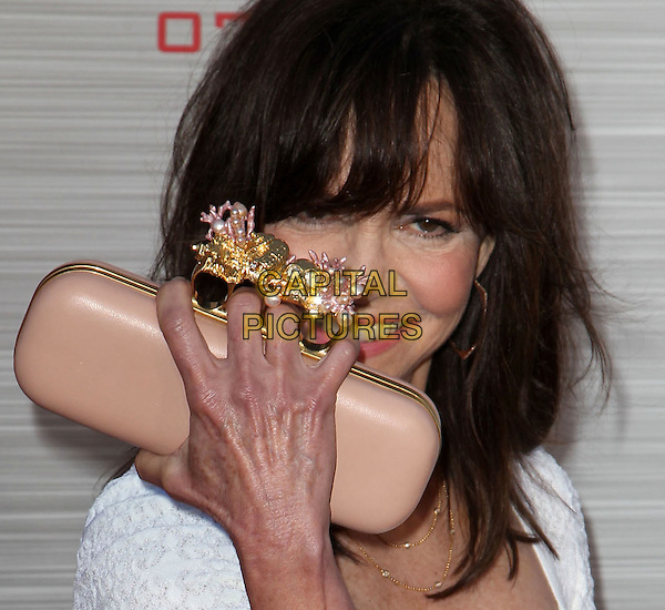 "Sally Field.Los Angeles Premiere Of ""The Amazing Spider-Man"" Held The at Regency Village Theatre, Westwood, California, USA..June 28th, 2012.headshot portrait hand veins knuckleduster gold pink clutch bag  .CAP/ADM/FS.©Faye Sadou/AdMedia/Capital Pictures."