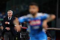 Carlo Ancelotti coach of Napoli <br /> Napoli 01-12-2019 Stadio San Paolo <br /> Football Serie A 2019/2020 <br /> SSC Napoli - Bologna FC<br /> Photo Cesare Purini / Insidefoto