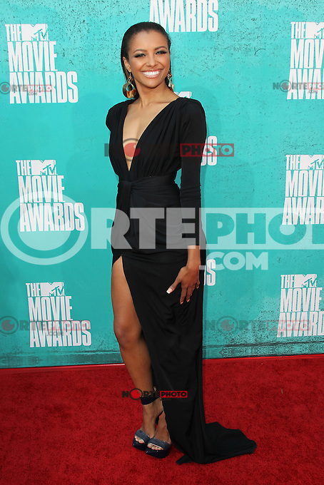 Kat Graham at the 2012 MTV Movie Awards held at Gibson Amphitheatre on June 3, 2012 in Universal City, California. © mpi29/MediaPunch Inc.