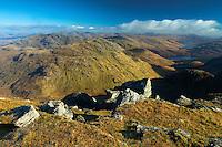 Ben Vane and Ben Vorlich from Beinn Ime, the Arrochar Alps, Loch Lomond and the Trossachs National Park, Argyll & Bute