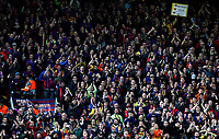 Barcelona fans applaud the Liverpool players at the final whistle <br /> <br /> Photographer Rich Linley/CameraSport<br /> <br /> UEFA Champions League Semi-Final 2nd Leg - Liverpool v Barcelona - Tuesday May 7th 2019 - Anfield - Liverpool<br />  <br /> World Copyright © 2018 CameraSport. All rights reserved. 43 Linden Ave. Countesthorpe. Leicester. England. LE8 5PG - Tel: +44 (0) 116 277 4147 - admin@camerasport.com - www.camerasport.com
